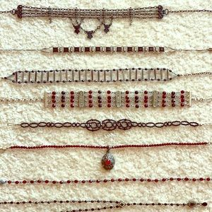 Necklace lot of 8